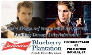 Order TIckets at www.BlueberryConcerts.com